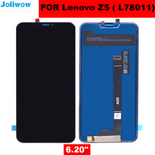 FOR Lenovo Z5 LCD Display+Touch Screen Assembly Replacement for phone Lenovo L78011 LCD Screen