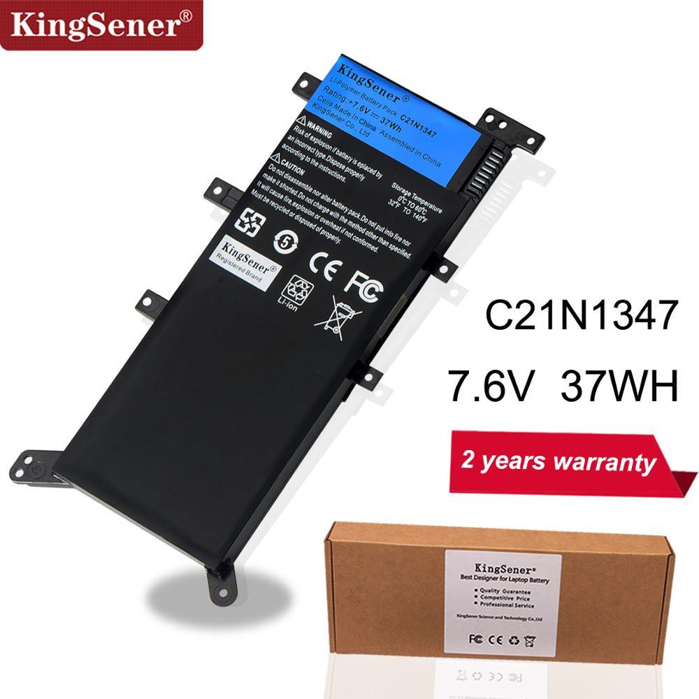 7.5V 37WH KingSener C21N1347 Nouvelle batterie d'ordinateur portable pour asus X554L X555 X555L X555LA X555LD X555LN X555MA 2ICP4/63/134 C21N1347
