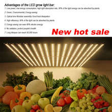 2019 New arrival CE Rohs 16 Led Grow Light Bar 1000W 1200W Full Spectrum LM301B 660nm Samsung For Indoor Garden