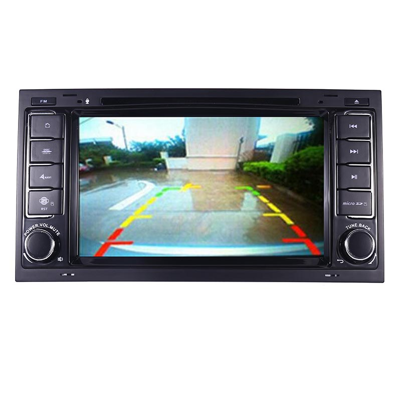 "Image 3 - 7""HD IPS Touch Screen Android 9.0 Car DVD Player for Volkswagen VW Touareg T5 Transporter Multivan 2004 2011 Radio audio stereo-in Car Multimedia Player from Automobiles & Motorcycles"