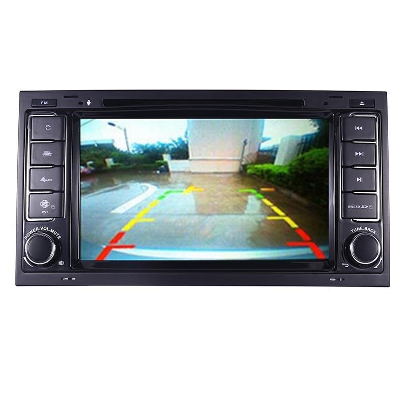 "Image 3 - 7 ""HD ips сенсорный экран Android 9,0 автомобильный dvd плеер для Volkswagen Touareg T5 транспортер мультивен 2004 2011 радио аудио стерео-in Мультимедиаплеер для авто from Автомобили и мотоциклы"