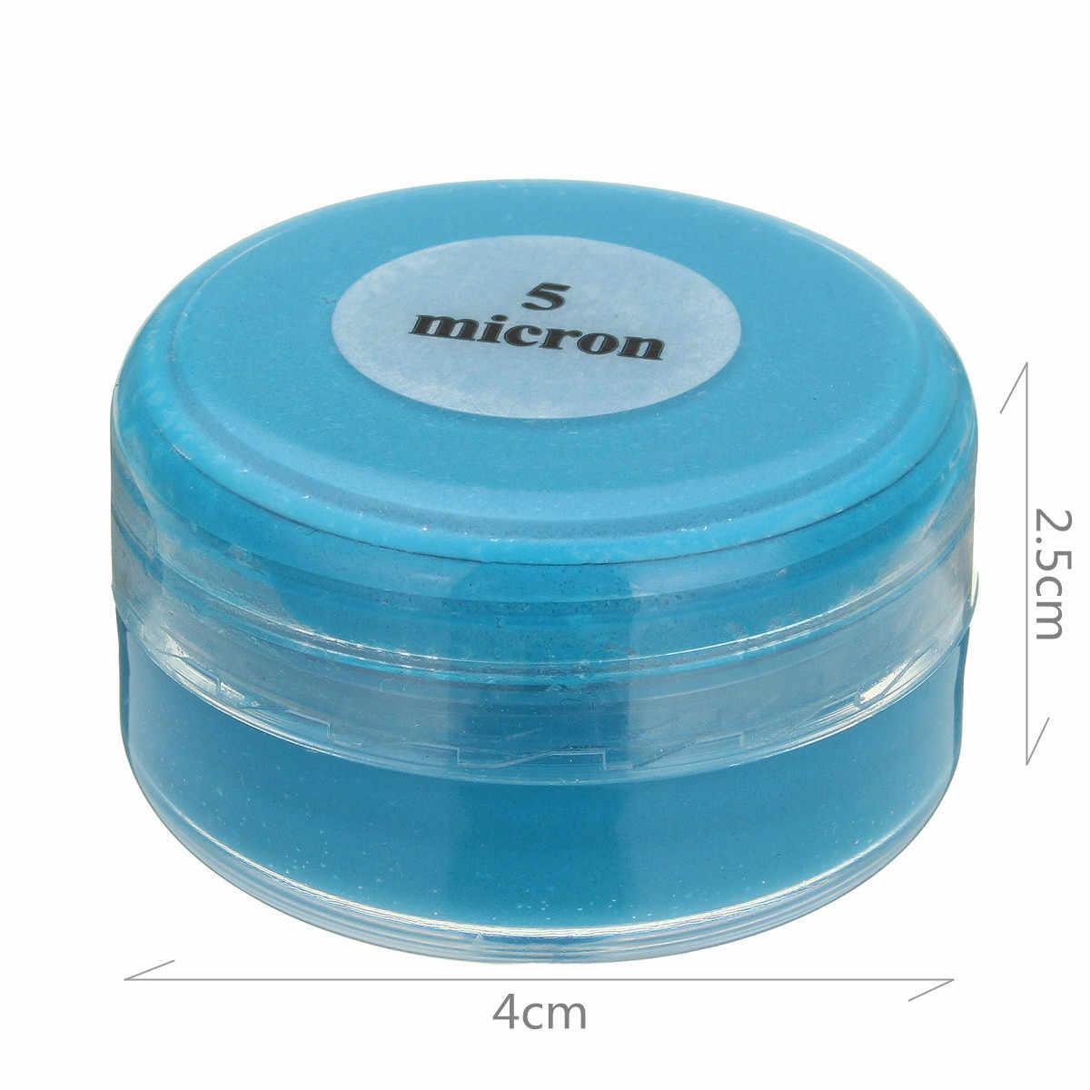 20 g/caja 5 micrones diamante pulido pasta compuesto Metal pulido herramientas abrasivas Esmeralda ágata cristal