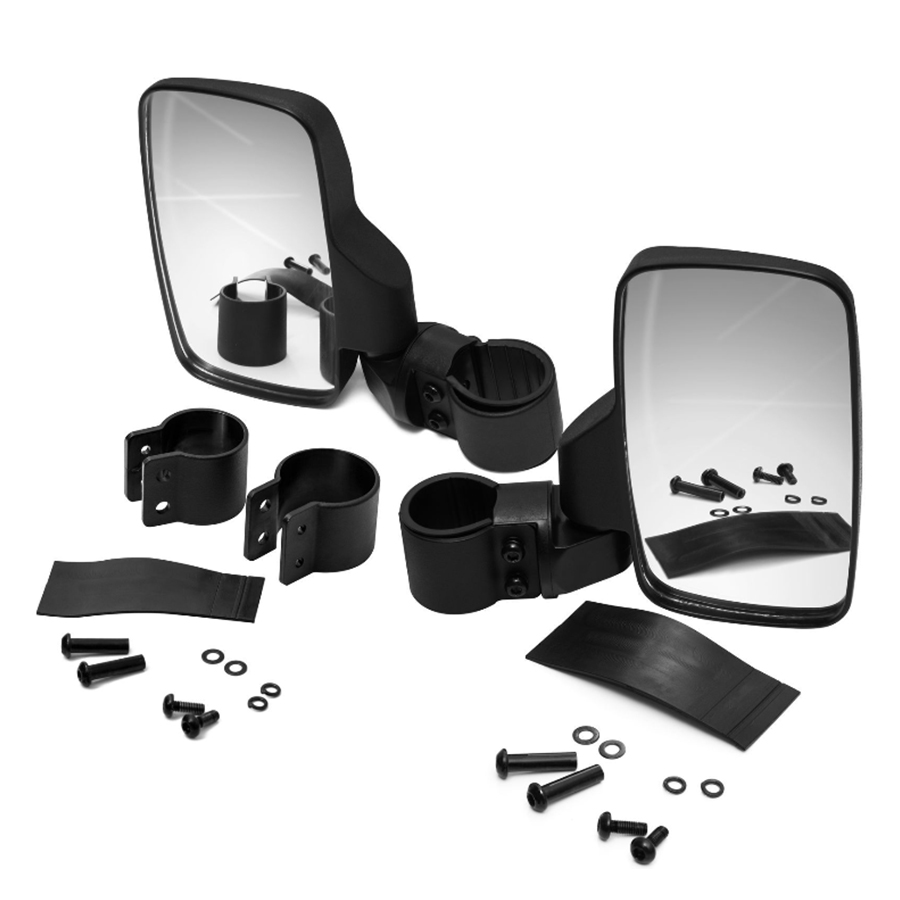 includes side mirror kit -
