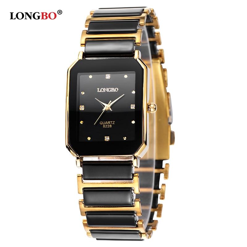 Longbo Brand Men Lady Comple Fashion Brief Casual Unique Quartz Ceramic Wrist Watches Luxury Watch Relogio Feminino Montre Femme