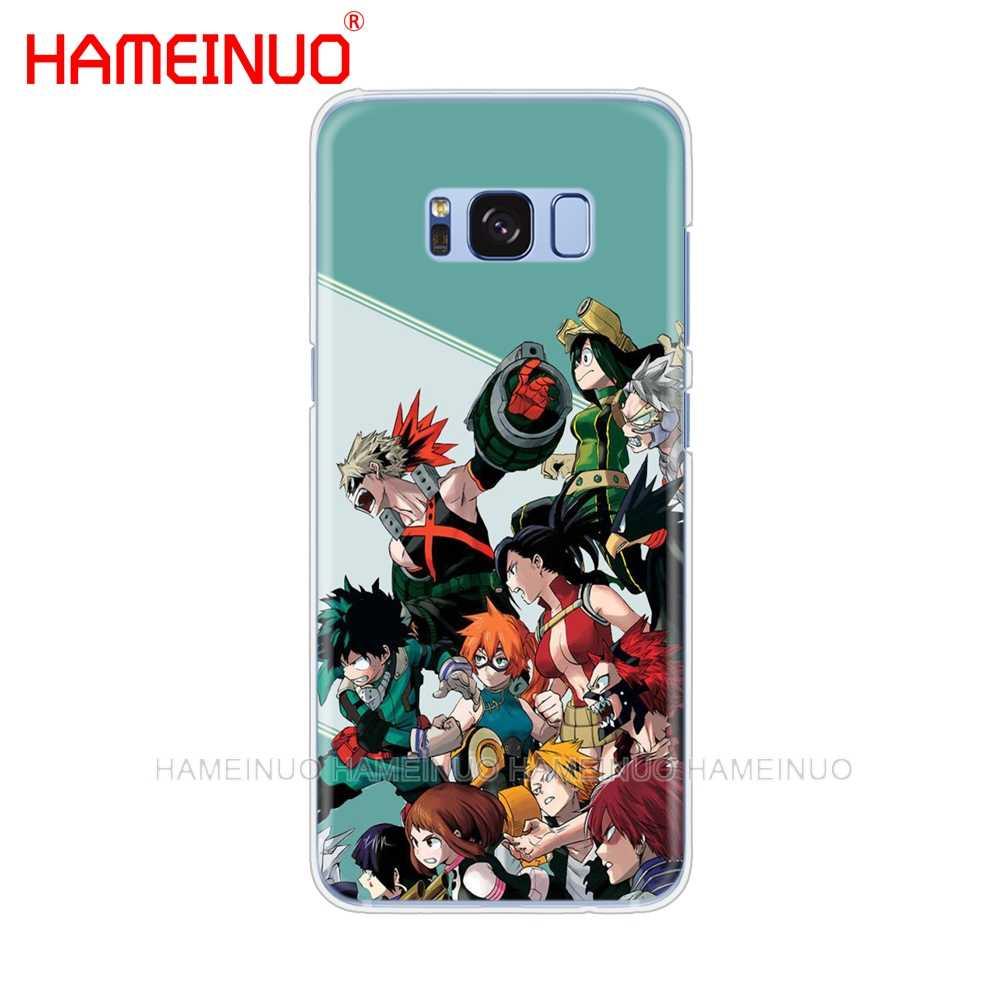 HAMEINUO My Hero Academia Animecell telefon skrzynki pokrywa dla Samsung Galaxy S9 S7 krawędzi PLUS S8 S6 S5 S4 S3 MINI