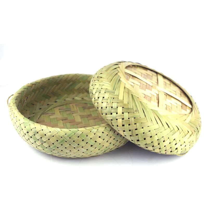 Хранилище корзина для фруктов пластина плетёная ротанговая ручная работа Кухня Еда для пикника хлеб домашнее платье контейнер корзина для хранения