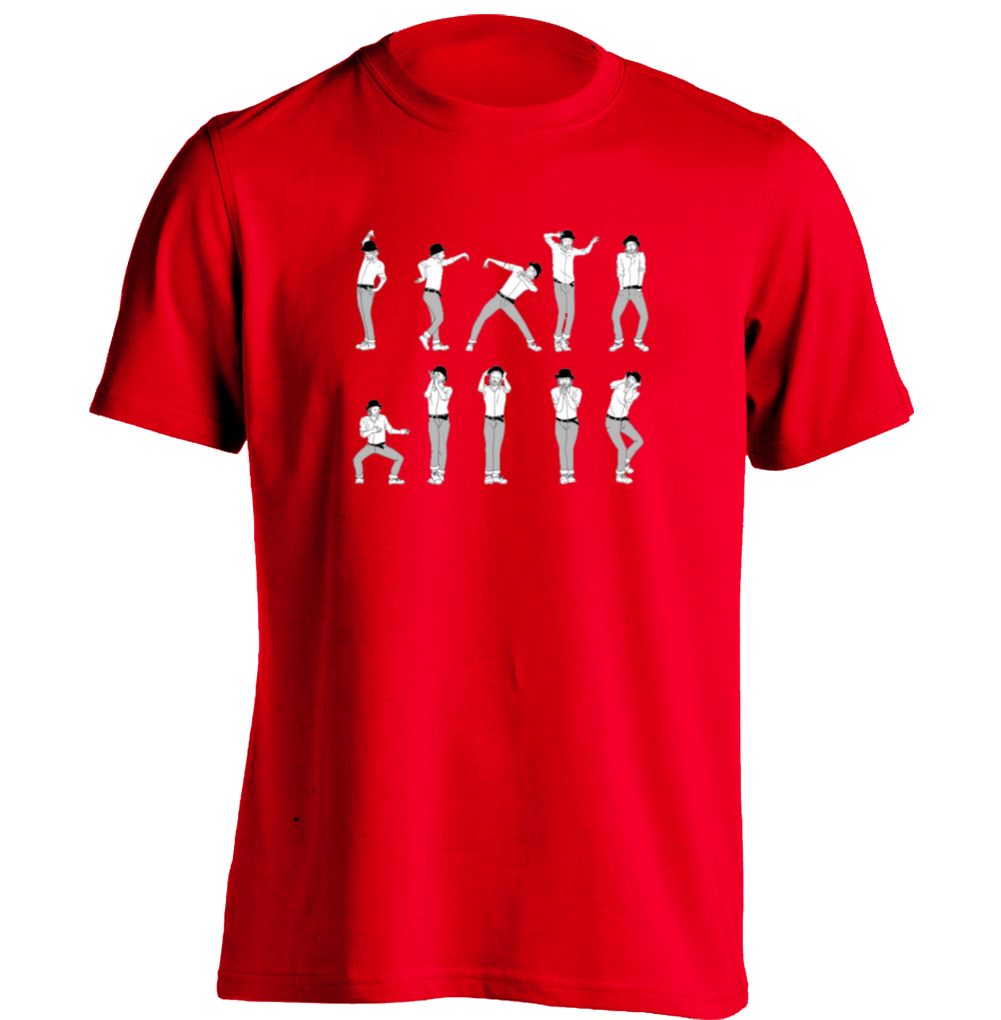 Popular Radiohead dance Mens Funny T Shirts Personalized Custom Tee-in T  ZR71