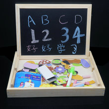 Free shipping ,childrens educational toys, magnetic puzzle, children gifts, 3 d puzzle ,digital ,letter