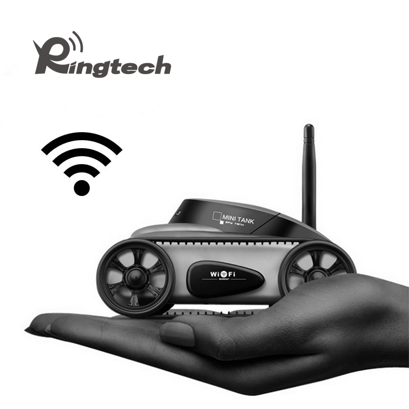 Ringtech Remote Control WIFI Tank Toy IOS phone Android Real-time Transmission RC Tank Mini WiFi RC Tank with Camera Support new arrival rc tank happy cow 777 325 wifi rc car with 30w pixels camera support ios phone or android