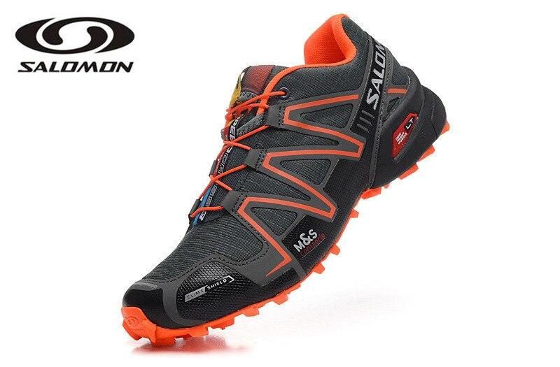 Salomon Скорость Крест 3 CS беговых кроссовки Брендовые мужские кроссовки спортивные спортивная обувь Скорость кросы кроссовки