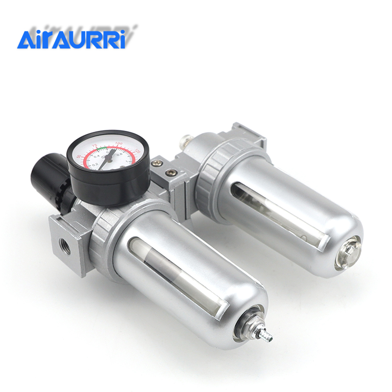 SFC 200 SFC 300 SFC 400 Air Compressor Air Filter Regulator Oil Water Separator Trap Filter Regulator Valve Automatic Drain in Pneumatic Parts from Home Improvement