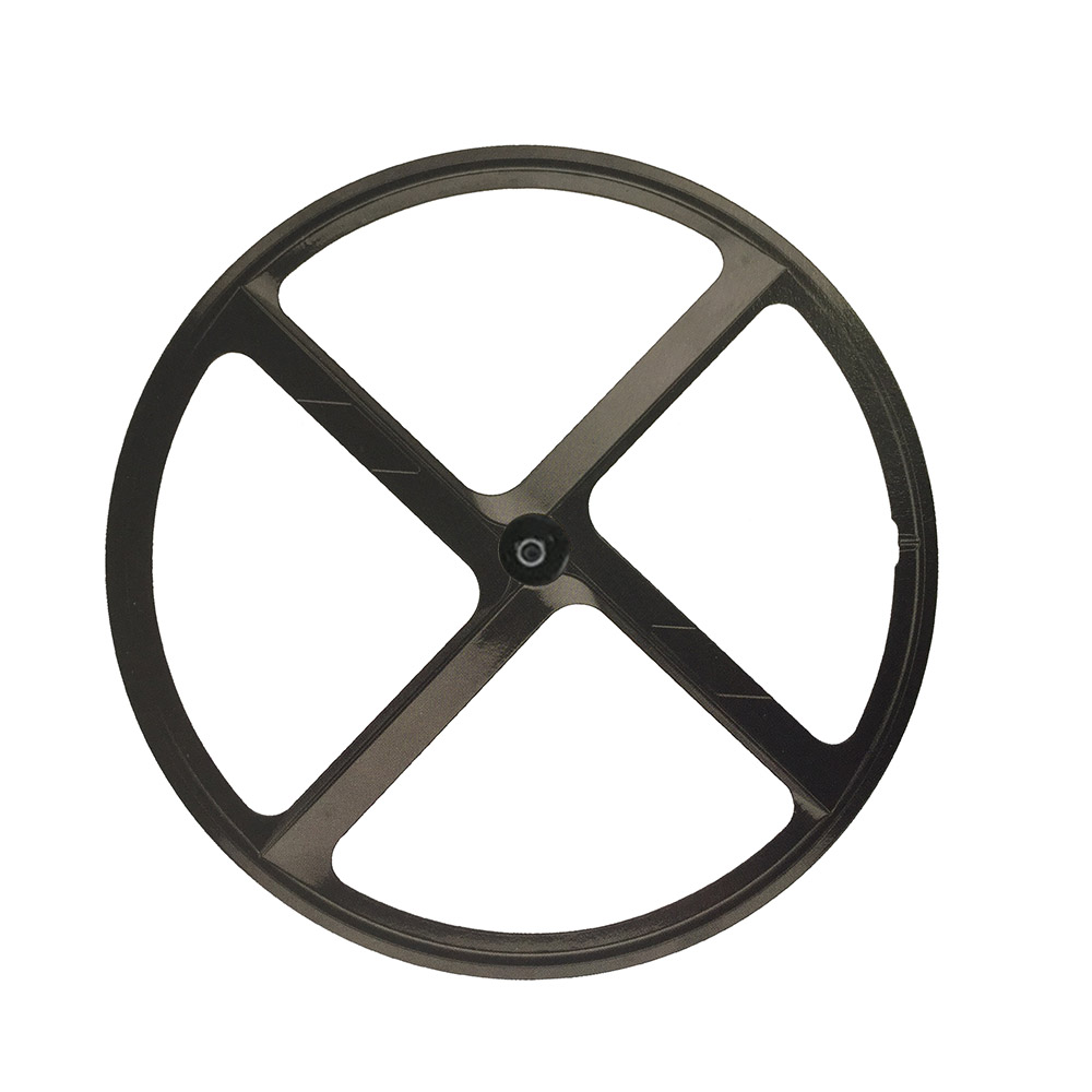 700C wheel Magnesium Alloy road bike  4 spokes fixie Bicycle Mag TRI front rear wheel Mag Alloy Fixed gear bike wheels Rims new 7075 48t single speed fixed gear fixie bike crankset cycling road track bicycle crank set chain wheel