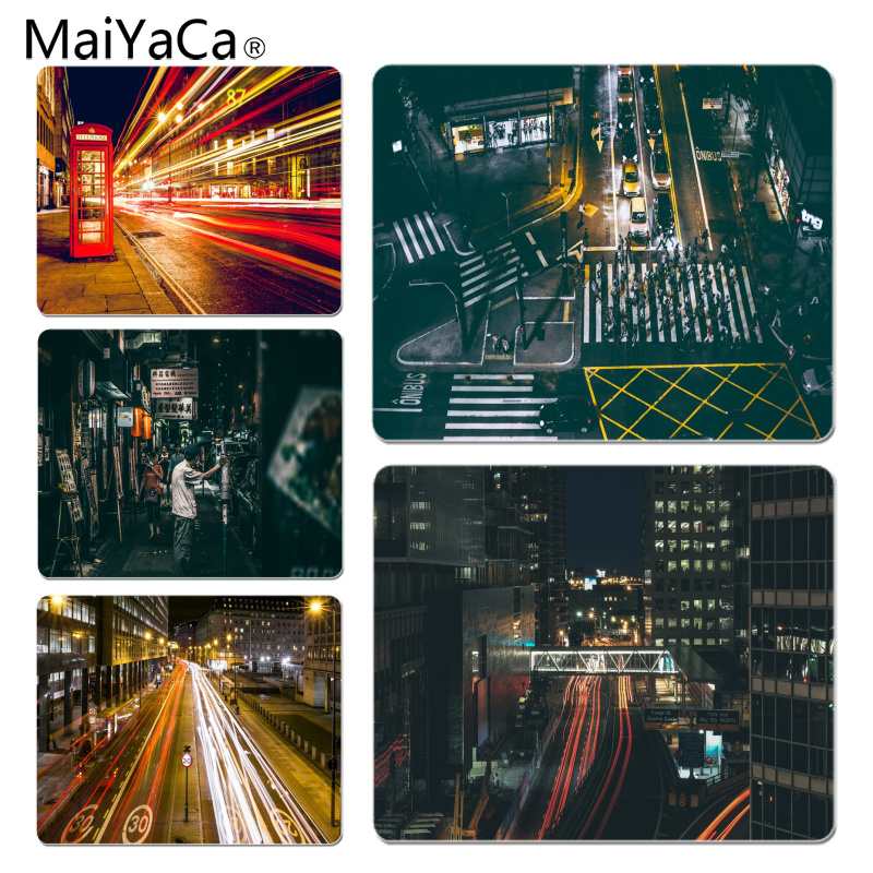 MaiYaCa Roadside Lights gamer play mats Mousepad Size for 18X22CM Speed Version Gaming Mousepads