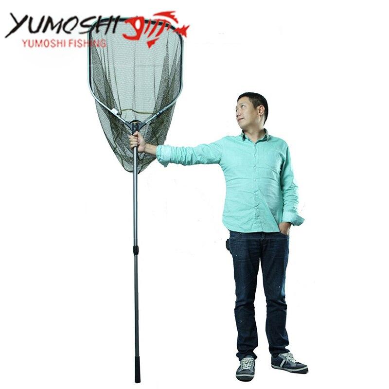 High Quality Large Size Fishing Net Hand Net Fishing Landing Net Tackle Landing net Perfect Fishing