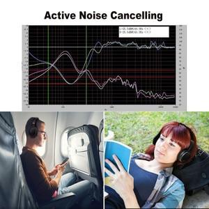 Image 3 - Oneodio aktywna redukcja szumów bezprzewodowe słuchawki z mikrofonem Bluetooth apt x krótki czas oczekiwania zestaw słuchawkowy do telefonu ANC podróż