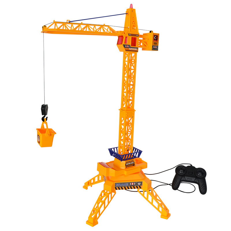 Garçons jouets électriques Construction jouets fil Type contrôle grue jouets ingénierie voiture Construction véhicules jouet modèle cadeau d'anniversaire