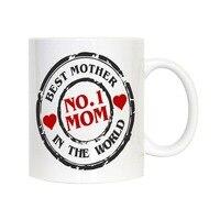 Mother Mugs Mommy Mom Birthday Gifts Porcelain Coffee Mug Printed Novelty Grandma Nana Grandmother Ceramic Tea