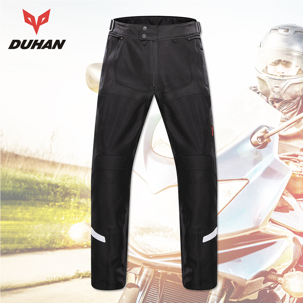 DUHAN Motorcycle Pants Moto Pants Motocross Pants Men Trousers Enduro Riding Trousers Motocross Off-Road Racing Trousers rock biker men cotton retro denim jeans motorcycle moto racing pants pantaloni motocross motorcycle enduro riding trousers