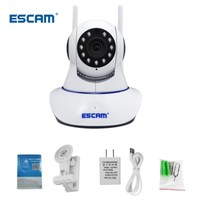 ESCAM G01 1080P IP Camera Remote Viewing Move Detection PTZ/Tilt WiFi Camera Support ONVIF Two Way Talk IR Night Vision