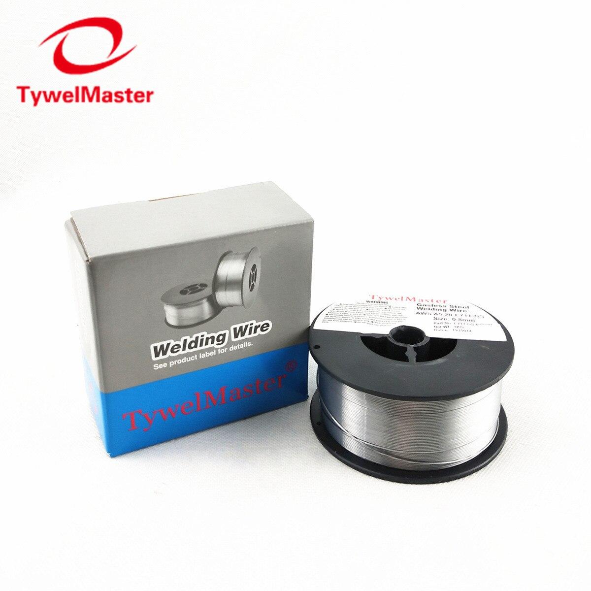 Gasless Welding Wire E71T-GS 0.8mm 0.9KG 2LB Spool AWS A5.20 ISO 17632 Mig Welding Сварка