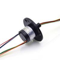 8 Channel 2A Motor Slip Ring Conductive Capsule Slip Rings Out Diameter 22mm SRC 22 08C