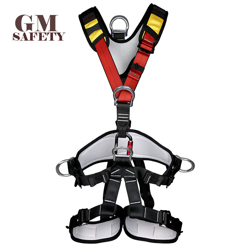 Body Safety Belt for High Altitude Operation Rock Climbing Rescue Body Safety Harness Comfortable Safe Rock Climbing Equipment