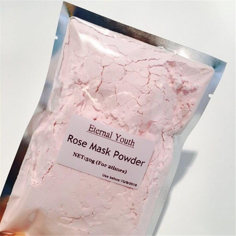 Rose Facial Peel Off Mask Powder Moisturizing Soft Powder Face Mask Scars Acne Control