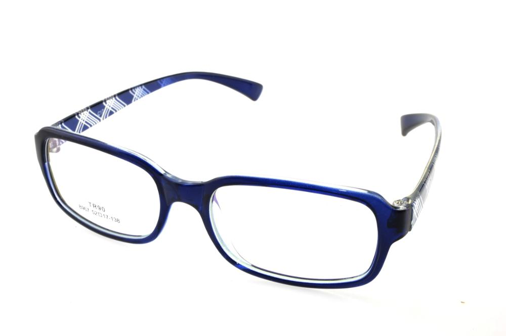 51e16e077b Custom Made Progressive multifocal Bifocal prescription lens Eyeglasses See  Near Far Blue glasses frame spectacles +1To+6 ADD