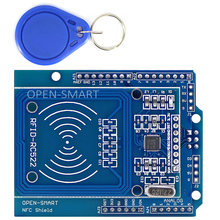 NFC Shield RFID RC522 Module RF IC Card Sensor + S50 RFID Smart Card for Arduino UNO / Mega2560(China)
