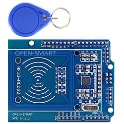 NFC щит RFID RC522 Модуль РФ карт IC Сенсор + S50 RFID смарт-карты для Arduino UNO/Mega2560