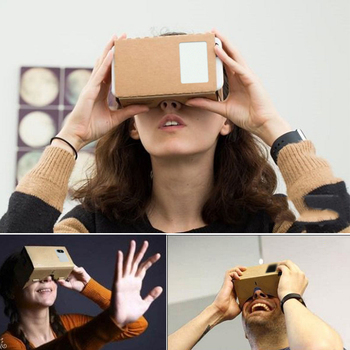Virtual Reality Glasses Google Cardboard Glasses 3D Glasses VR Box Movies for iPhone 5 6 7 SmartPhones VR Headset For Xiaomi 5