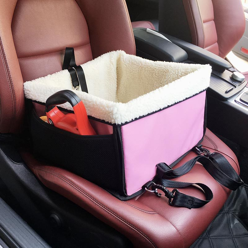 Portable Pet Dog Car Booster Seat For Small Medium Dogs Cats By Yier