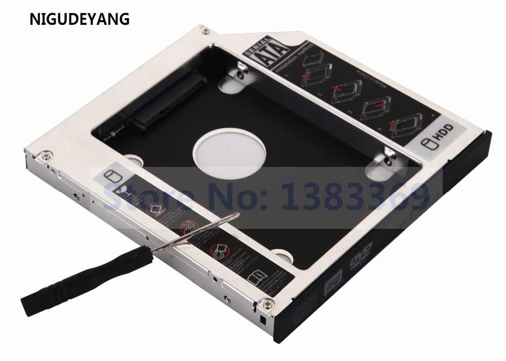 Nigudeyang 2nd disco rígido hdd ssd sata caddy para acer aspire 5736 5736z 6935g 7535g 5733 5733-6898