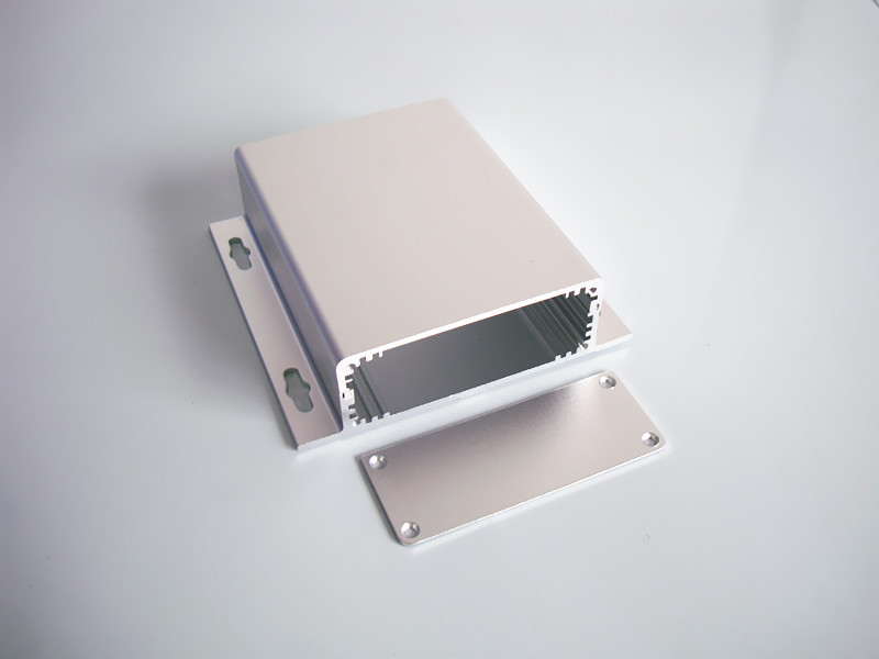 Aluminum enclosure PCB Chassis shell Power case split panel box extruded case DIY 90*35*120mm high quality customized 150 ohm 500w watt power aluminum metal shell case gold resistor
