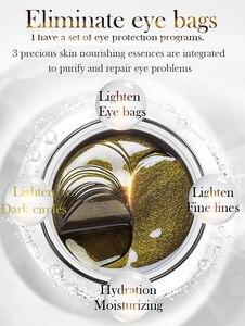 Image 5 - קוריאני טיפוח עור שחור תה קולגן ג ל רטיות מסכת צמח תמצית חג המולד מתנה עיניים מסיר כהה עיגולים אנטי גיל תיק