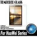 0.26mm película protectora para huawei mediapad m2 8.0 honor x1 x2 7.0 ascend p8 max 6.8 pulgadas de pantalla de cristal templado Protector