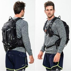 Image 5 - 20L su geçirmez sıvı alımı sırt çantası, gece yansıtıcı erkek sırt çantası, nefes yürüyüş kamp çantaları ile yağmur kılıfı