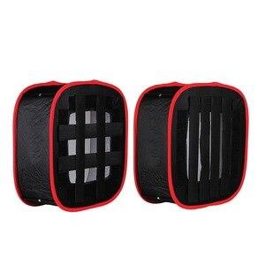 Image 5 - Meking collapsible softbox 40*40cm yongnuo yn600 yn900 led 라이트 패널 휴대용 조명 modifier 스튜디오
