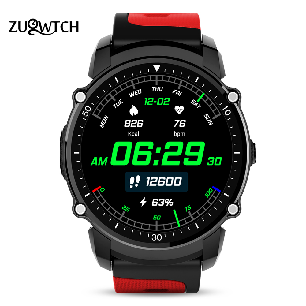 GPS Smart Watch MTK2503 Sport Watch IP68 Waterproof Bluetooth Smartwatch Heart Rate Fitness Tracker Multi-mode for IOS Android fs08 gps smart watch mtk2503 ip68 waterproof bluetooth 4 0 heart rate fitness tracker multi mode sports monitoring smartwatch