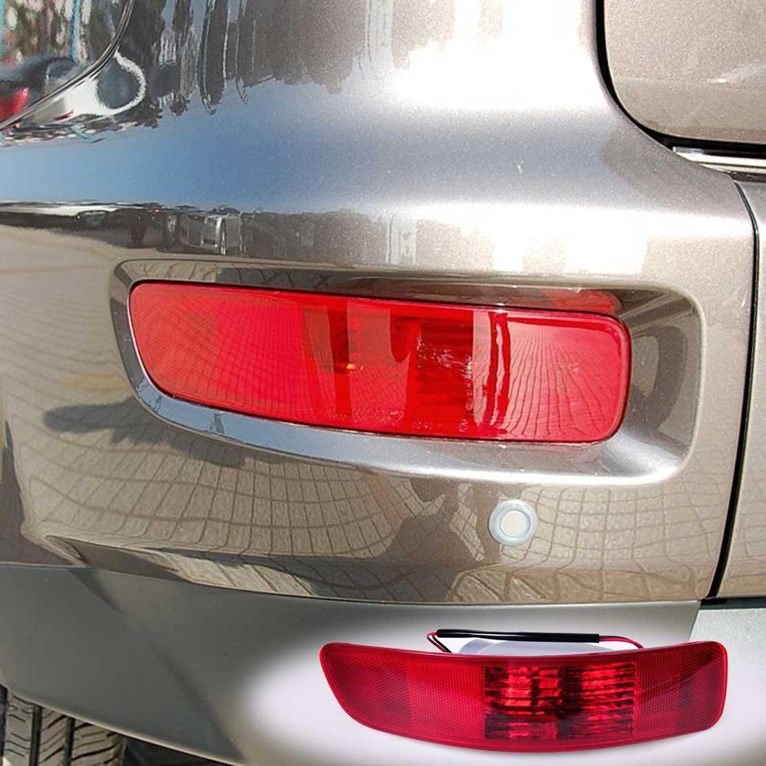 beler 1Pc New Rear Fog Lamp Light Left Side SL693-LH SL693 Fit for Mitsubishi Outlander 2007 2008 2009 2010 2011 2012 2013 1pcs lh left side tail fog lamp red rear bumper light cd85 51 660 for mazda 5 2008