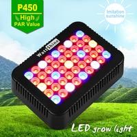 450W Led Grow Light High PAR Value Doubel Chips 10W Focusing Lens Full Spectrum Indoor Plants
