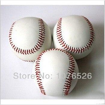 Standard White Trainning Exercise Soft Baseball Softball ball For Sport Team Game Practice Entertainment Free shipping