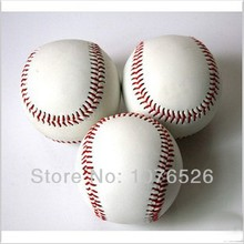 Standard White Trainning Exercise Soft Baseball Softball ball For Sport Team Game Practice Entertainment Free shipping