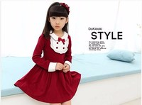 Baby Girl Boy Clothes Girls Autumn College Wind Dress Girl Clothes Children Spring Section Thin Paragraph