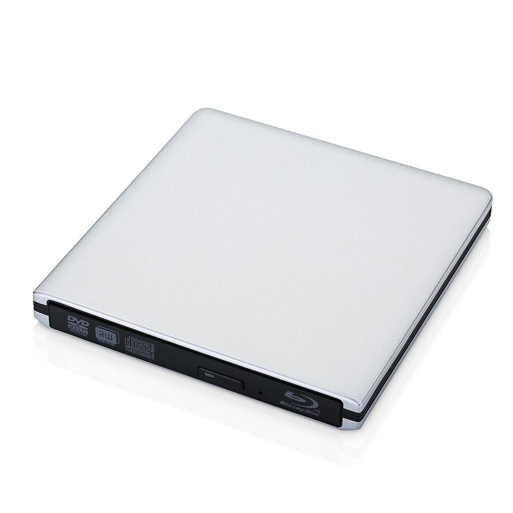 Aluminium USB 3.0 lecteur DVD/CD argent