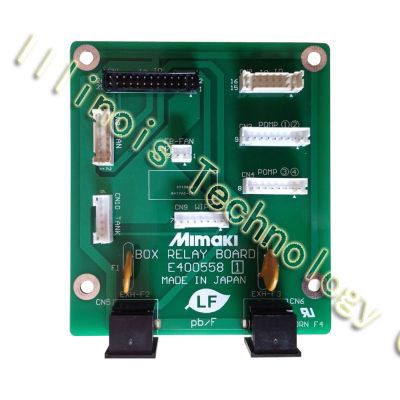 Mimaki JV5 / TS5 Box Relay Board printer parts mimaki jv5 jv5 130 jv5 130s jv5 160 jv5 160s ts5 ts5 1600 raster film tape encoder strip for mimaki dx5 inkjet printer 1pcs