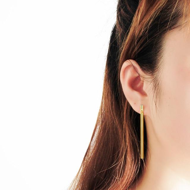 Minimalism Dainty Thin Long Linked Bar Dangle Drop Earrings For Women Modern Boho Jewelry Stainless Steel.jpg 640x640 - Minimalism Dainty Thin Long Linked Bar Dangle Drop Earrings For Women Modern Boho Jewelry Stainless Steel Gold Brincos Bijoux
