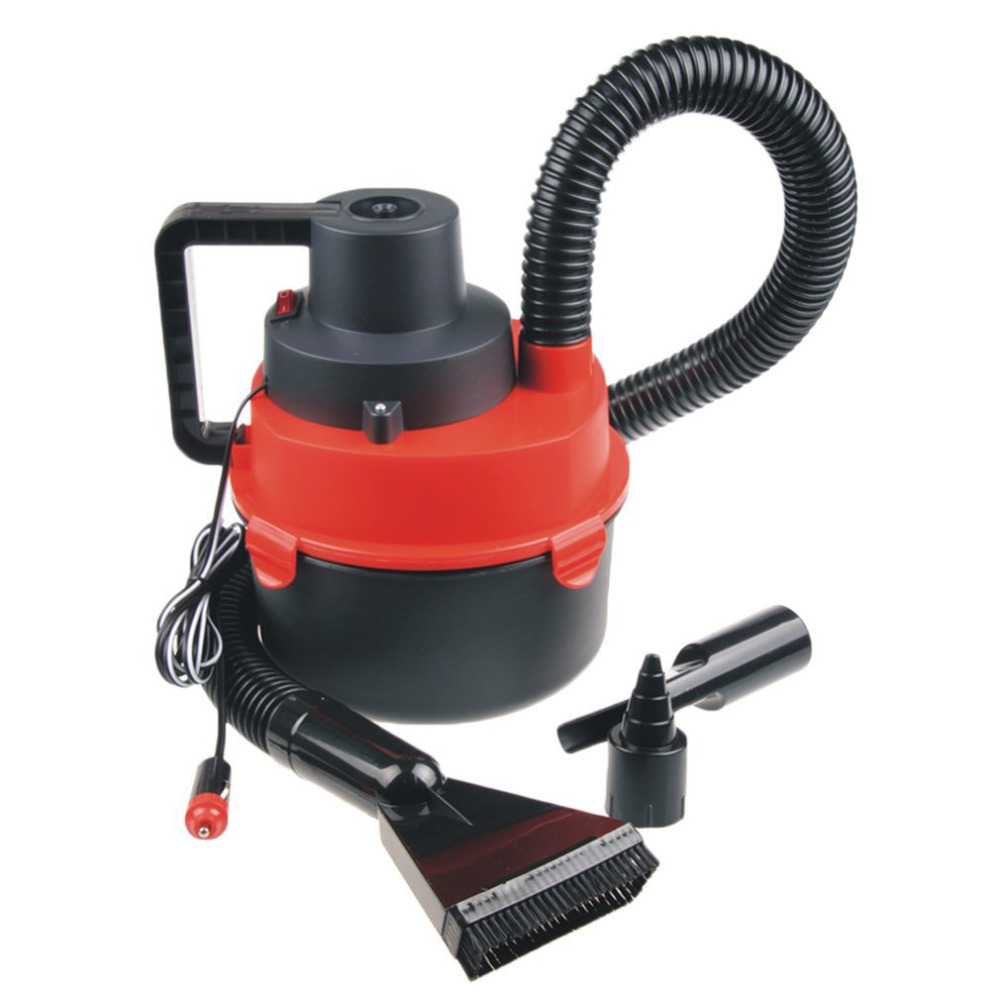 DC 12 Volt Mini Auto Car Vacuum Cleaner Compact Size Dual Use Powerfull Wet/Dry Easy and Hassle-free Cleaning Process