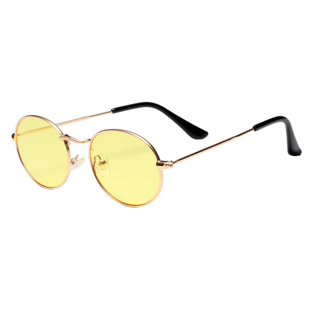 f31eff62514947 2018 mignon sexy rétro ovale lunettes de soleil femmes célèbre marque  vintage ronde petit visage lunettes