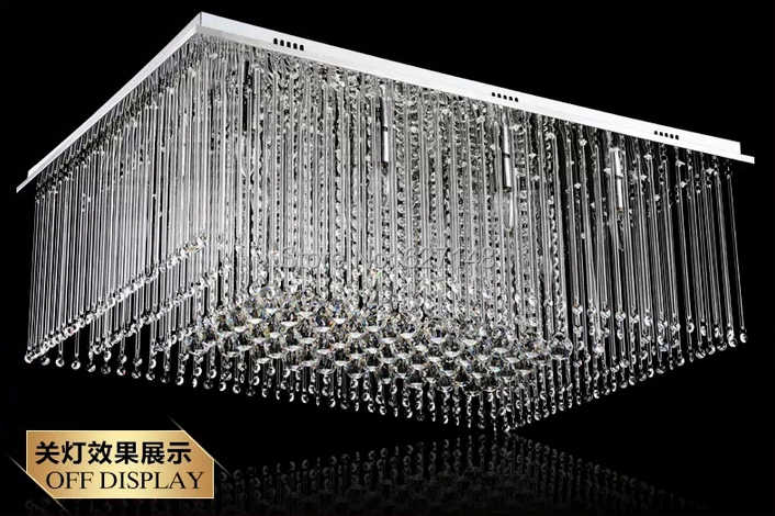 design rectangular crystal chandelier living modern home lamp rectangle toronto with black shade canada